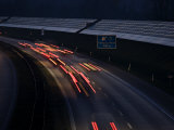 Photovoltaic Panels on an Autobahn Noise Reduction Wall