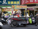 Mobile Food Cart in the Streets of Taipei