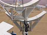 Maintenance to a Solar Array in Granada