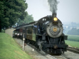 Strasburg Railroad 4-8-0 No475 at Cherry Hill  Pennsylvaina