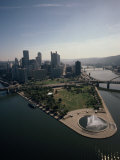 Pittsburgh and the Confluence of the Monongahela and Allegheny Rivers