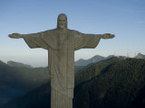 Christ the Redeemer Statue at Sunrise