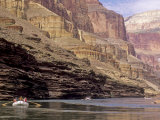 Rafters Float Down the Colorado River