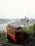 Cable Car to Mount Washington Overlooking Pittsburgh
