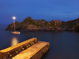 Scenic Evening View of Polperro