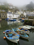 In Polperro  a Small Fishing Village  on the South Coast of Cornwall