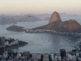 Aerial View of Sugar Loaf Mountain and Rio De Janeiro