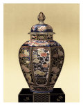 Oriental Blue Vase II
