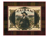 Crackled Cigar Label III