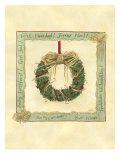 Raffia Wreath I