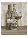 Black and White Wine Series I