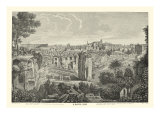 Piranesi View of Rome II natural