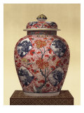 Oriental Blue Vase III