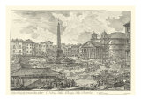 Piranesi View of Rome V natural
