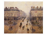The Avenue De L'Opera  Paris  1880