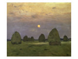 Haystacks Twilight  1899