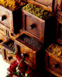 Spices in Drawers