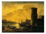 Bay at Sunset  1549