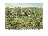 Symbols -Solomon's Temple Reproduction d'art par Charles O'Donnell