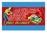 Robot Bulldozer - Six Features
