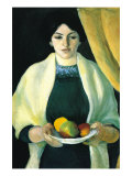 Portrait with Apples (Portrait of The Wife of The Artist)