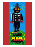 Mechanical Walking Space Man