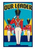 Our Leader Broom Label