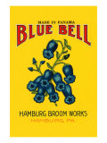 Blue Bell Broom Label