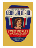 Georgia Maid Sweet Pickles