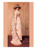 Nocturne In Pink and Gray  Portrait of Lady Meux