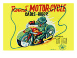 Round Motor-Cycle Cable Rider