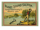 Puget Sound Salmon - On The Fly