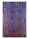 Beech Forest Reproduction d'art par Gustav Klimt