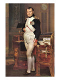 Portrait of Napoleon In His Work Room