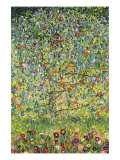 Pommier Reproduction d'art par Gustav Klimt