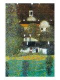 Castle Chamber At Attersee II Reproduction d'art par Gustav Klimt