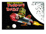 Mechanical Jumping Rocket