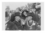 President and Mrs Coolidge at Laying of Cornerstone of George Washington Masonic National Memorial