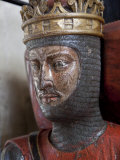 Oak Effigy of Robert  Duke of Normandy  Died 1134  Gloucestershire  England