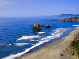 Coastline Near Crescent City  Northern California  United States of America  North America