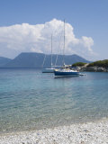Sailing Boats  Meganisi  Ionian Islands  Greek Islands  Greece  Europe
