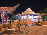 Rickshaw at the Tourist Office  Melaka (Malacca)  Melaka State  Malaysia  Southeast Asia  Asia