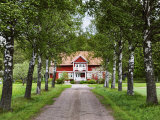 Farmhouse  Varmland  Sweden  Scandinavia  Europe