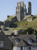 Corfe Castle  Built under Instructions of William the Conquerer  Dorset  England  United Kingdom