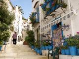 Casco Antiguo  Santa Cruz Quarter  Alicante  Valencia Province  Spain  Europe