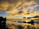 Sunrise  Raiatea  French Polynesia  South Pacific Ocean  Pacific
