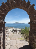 Taquile Island  Lake Titicaca  Peru  South America