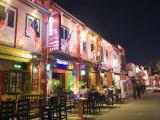 Bar Street  Melaka (Malacca)  Melaka State  Malaysia  Southeast Asia  Asia