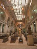 Egyptian Museum  Cairo  Egypt  North Africa  Africa