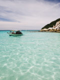 Boat Trip in the Perhentian Islands  Terengganu State  Malaysia  Southeast Asia  Asia
